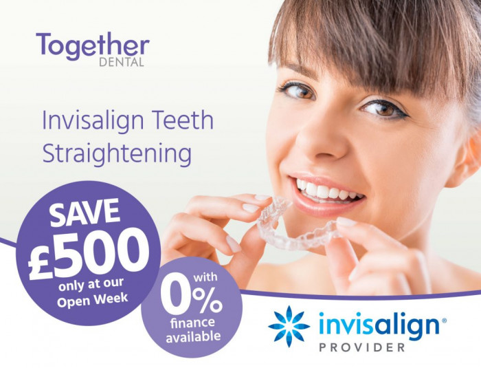 Invisalign Open Week Events – Brentwood & Broxbourne