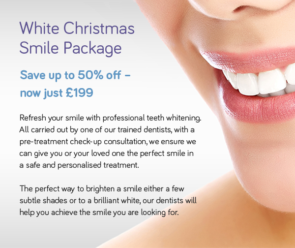 White Christmas Smile Package