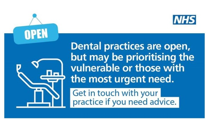 An update from Sara Hurley, Chief Dental Officer England