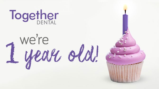 Together Dental is 1 year old!